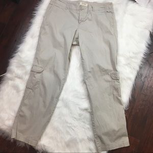 Sonoma Life + Style Khaki Cargo Pants Sz 14